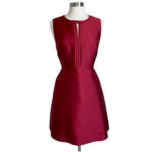 Erin Fetherston A-Lined Dress Size 8 Red Wine